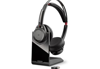 Poly Voyager Focus UC B825-M MS Teams USB-A, BT Stereo headset Teams certified