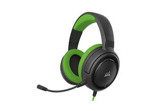 Corsair - HS35 Stereo Gaming Headset, Green