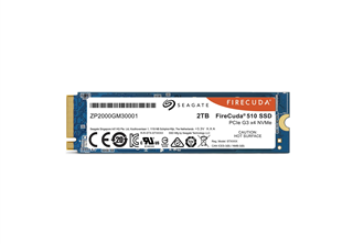Seagate Firecuda 510 2TB M.2 SSD M.2 2280 PCIe 3.0 x4, NVMe, up to 3450/3200MB/s, 2600TBW
