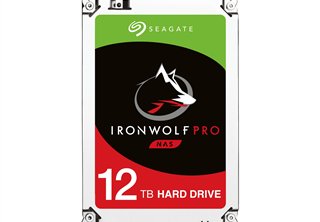 Seagate IronWolf PRO NAS HDD 3,5'' 12TB, 256MB, 7200RPM
