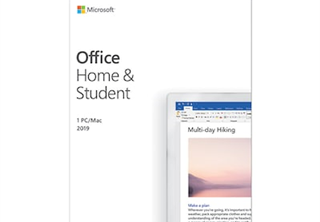 Microsoft® Office Home and Student 2019 Swedish Eurozone 1 License Medialess P6
