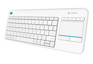 Logitech K400 Plus Wireless, White