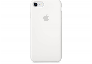 Apple Silicone Case White, for iPhone 8 / 7