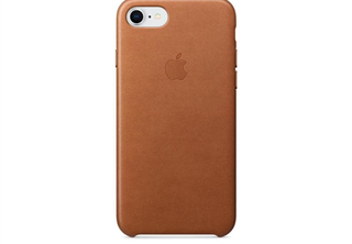 Apple Leather Case Saddle Brown, for iPhone 8 / 7