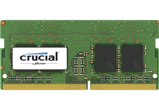 Crucial 16GB DDR4 2400MHz (PC4-19200) CL17 DR x8 Unbuffered SODIMM 260pin