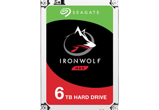 Seagate IronWolf 6TB 3.5'' NAS HDD 3.5'', SATA 6.0Gb/s, 7200RPM, 256MB cache, Agile Array, RV sensors