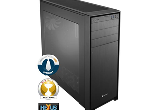 Corsair Obsidian 750D Big Tower Svart Fläktar: 2x 140mm Front, 140mm 1x Rear, mATX, ATX, eATX, mITX, USB, Fönster