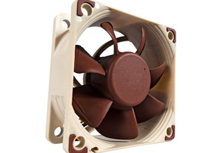 Noctua NF-A6x25 FLX 60mm Fläkt 60 x 60 x 25 mm, 1600~3000 RPM, 16.7~29.2 m³/h, 8.2~19.3 dBA, 3-Pin