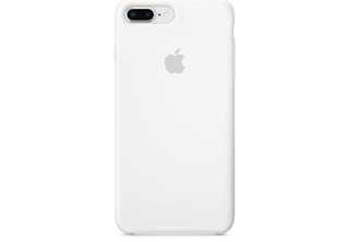 Apple Silicone Case White, for iPhone 8 Plus / 7 Plus