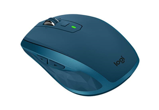 ''Logitech Wireless Mouse MX Anywhere 2S midnight teal retail''