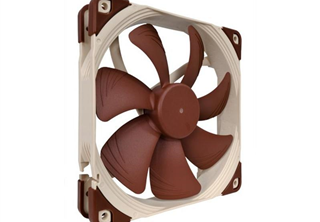 Noctua NF-A14 ULN 140mm Fläkt 140 x 140 x 25 mm, 650~800 RPM, 66.4~79.8 m³/h, 9.1~11.9 dBA, 3-Pin