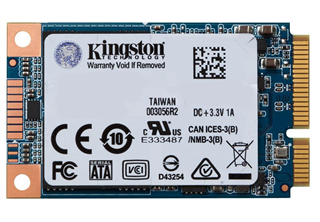 ''SSD 240GB Kingston 1,8'''' (4,6cm) mSATA   UV500 retail''