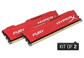''DDR3 16GB PC 1866 CL10 Kingston KIT (2x8GB) HyperX Fury Red retail''