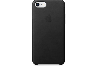 Apple Leather Case Black, for iPhone 8 / 7