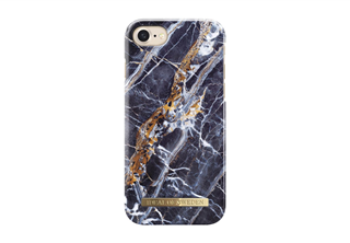 Ideal Of Sweden Fashion Case till iPhone 8/7/6/6s Midnight Blue Marble
