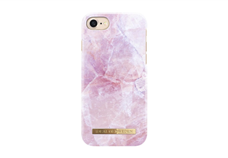 Trendigt mobilskal. Fashion Case S/S17 iPhone 8, 7, 6s Pilion Pink Marble