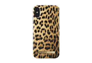 Trendigt mobilskal till iPhone X, Fashion Case A/W17 iPhone X Wild Leopard