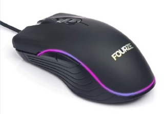 Fourze GM120 Gaming Mouse, 4800 Dpi, RGB