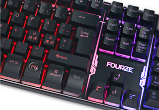 Fourze GK120 Gaming Keyboard, membrane