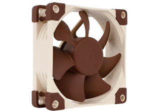 Noctua NF-A8 FLX 80mm Fläkt 80 x 80 x 25 mm, 1200~2000 RPM, 28,9~50,4 m³/h, 7,9~ 16,1 dBA, 3-pin