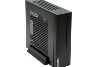 Chieftec Compact Series IX-01B Mini-ITX Mini ITX, Supports: 2x 2,5'' HDD/SSD