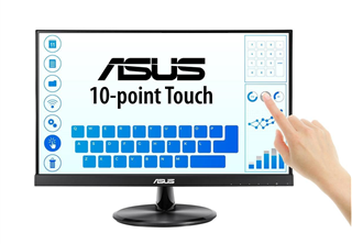 Asus 22'' LED VT229H 1920x1080 IPS, 5ms, 1000:1, 10-point touch, VGA/HDMI