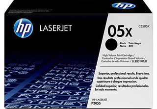HP Toner 05X 2-pack Black,HP 2-pack Toner CE505X Black. For LaserJet P2055 P2055d P2055dn, 6500pages