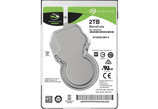 Seagate Barracuda 2TB 2.5'' Mobile HDD SATA 6.0Gb/s, 5400RPM, 128MB cache