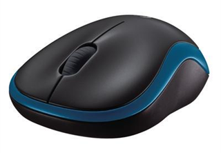 Logitech M185, Wireless, Swift Blue, 910-002236