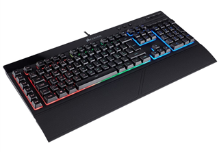 Corsair Gaming K55 RGB Tangentbord usb a, nordisk, rubberdome switchar, rgb, gaming tangentbord