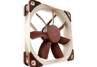 Noctua NF-S12A PWM 120mm Fläkt 120x 120 x 25 mm, 300~1200 RPM, 83,2~107.5 m³/h, 10.7~17,8 dBA, 4-Pin PWM