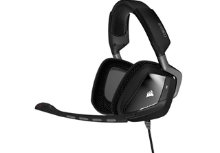 Corsair Void Pro RGB USB Svart usb, flip-up mik, brusreducerand, rgb, dolby 7,1 surround, gaming headset