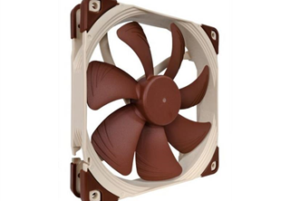 Noctua NF-A14 PWM 140mm Fläkt 140 x 140 x 25 mm, 300~1500 RPM, 115,5~140,2 m³/h, 19,2~24,6 dBA, 4-Pin PWM