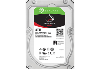 Seagate IronWolf PRO 4TB 3.5'' NAS HDD 3.5'', 7200RPM, SATA 6.0Gb/s NCQ, 128Mb Cache, 2 years data rescue, 5 years warr