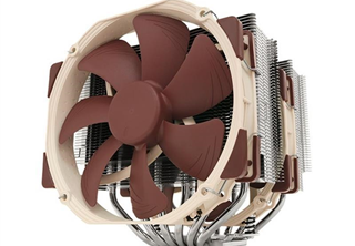 Noctua NH-D15 CPU Kylare 115x/2011/2011-3/2066, AM2/AM3, 300~1500 RPM, 140,2 m³/h, 19 ~24 dBA
