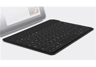 Logitech Keys-To-Go Svart För iPad, iPhone, Apple TV, Nordisk version