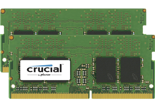 Crucial 8GB Kit (4GBx2) DDR4 2400MHz (PC4-19200) CL17 SR x8 Unbuffered SODIMM 260pin