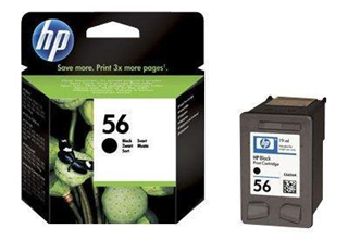 HP Ink 56 Black, C6656AE för DJ5550/P7000