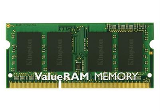 ''SO DDR3  8GB PC 1333 CL9  Kingston ValueRAM retail''