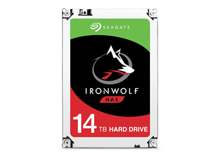 Seagate IronWolf 14TB 3,5'' NAS HDD 3.5'', SATA 6.0Gb/s, 7200RPM, 256MB cache, Agile Array