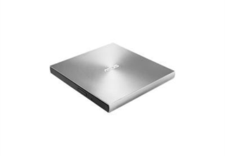 ASUS DVD Writer ZenDrive U7M Silver USB 2.0, 8x DVD±R, 8x DVD±R DL, 24x CD-R, 4x M-Disc, 2 M-discs inc, Retail