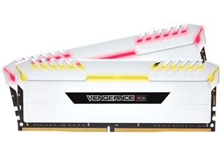 Corsair Vengeance 16GB (2-KIT) DDR4 3600MHz C18 White RGB