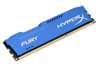 HyperX Fury DDR3 1866MHz 8GB 8GB 1866MHz (PC3-14900) DDR3 CL10, Blå