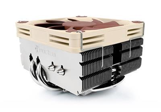 Noctua NH-L9x65 CPU Kylare 115x/2011/2011-3/2066, AM2/AM3, 600-2500 RPM, 57,5 m³/h, ~23,6 dBA