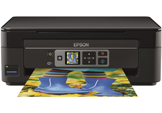 Epson Expression Home XP-352 All-in-One-enhet, Inkjet, 10 sidor per minut, 100 ark, WiFi