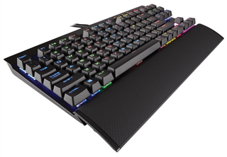 Corsair Gaming K65 RGB Rapidfire usb a, nordisk, cherry mx speed, rgb, tkl mekanisk gaming tangentbord