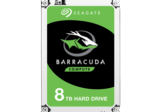 Seagate BarraCuda Desktop HDD 3,5'' 8TB, 256MB, 5400RPM