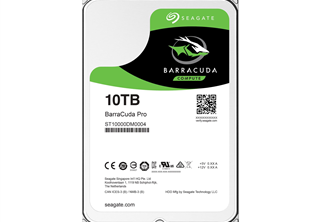 Seagate Barracuda PRO 10TB 3.5 HDD SATA 6.0Gb/s, 7200RPM, 256MB cache, 24/7 certified