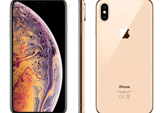 Apple iPhone Xs Max 64 GB Guld SmartPhone, 6,5'' OLED-skärm, dubbelt 12MP kamera, 4G, 3D Touch