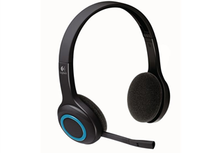 ''Logitech Wireless Headset H600 black retail''
